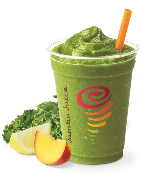 Green smoothie from Jamba Juice