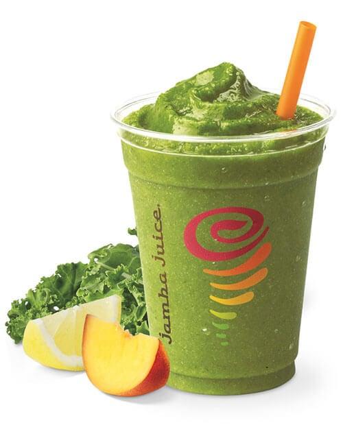 Green smoothie from Jamba Juice